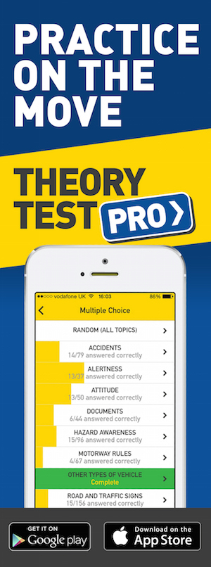 Theory Test Pro in partnership with SafeRoads Learner Driver Training
